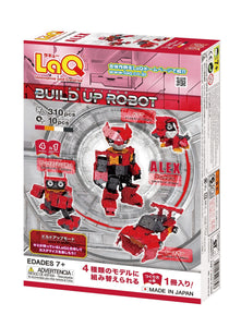 LaQ robot alex set package back view