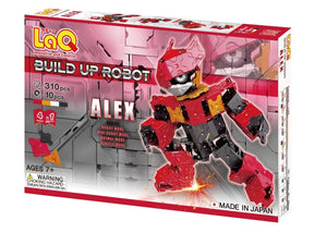 LaQ robot alex set package front view featured in the LaQ robot alex set