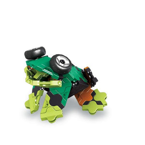 Frog featured in the LaQ robot jade set