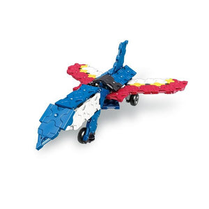 jet featured in the LaQ robot lapis set