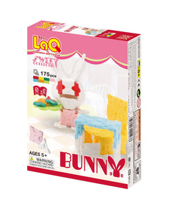 Bunny set package front side featured in the LaQ sweet collection
