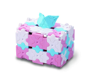 Gift box featured in the LaQ sweet collection cute house set