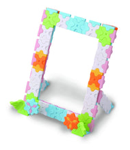 Load image into Gallery viewer, Photo stand featured in the LaQ sweet collection cute house set