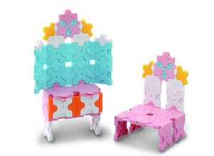 Pretty dresser featured in the LaQ sweet collection cute house set