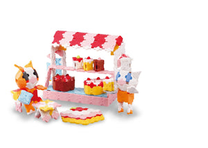Kittys pastry shop featured in the LaQ sweet collection dreams set
