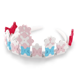 Princess tiara featured in the LaQ sweet collection dreams set