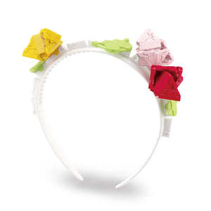Rose headband featured in the LaQ sweet collection dreams set