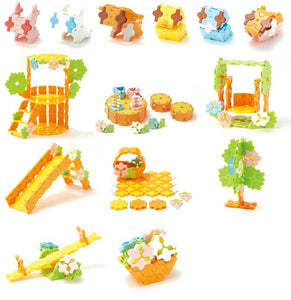 All models featured in the LaQ sweet collection forest friends set
