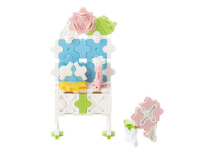 Rose dresser featured in the LaQ sweet collection princess garden set