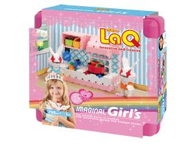 Package featured in the LaQ imaginal girl's 1st edition set