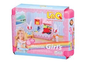 Package featured in the LaQ imaginal girl's 2nd edition set