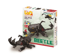 Load image into Gallery viewer, Beetles featured in the LaQ insect world beetle set