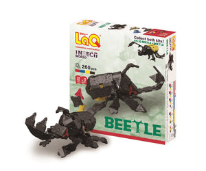 Beetles featured in the LaQ insect world beetle set