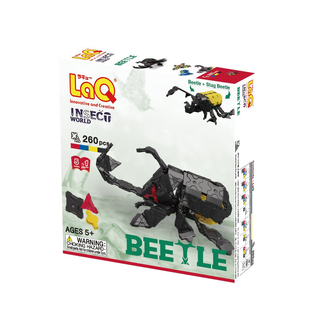 Package featured in the LaQ insect world beetle set