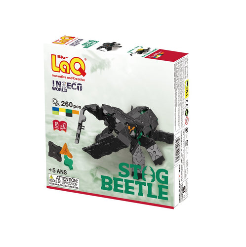 Package featured in the LaQ insect world stag beetle set