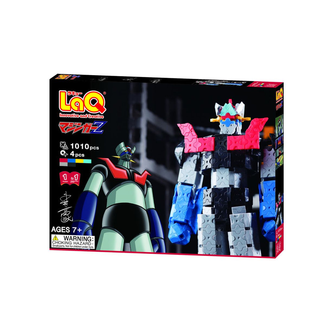 Mazinger z robot package front side