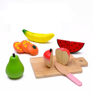 Fruit set display featured in the woody puddy set