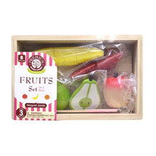 Load image into Gallery viewer, Fruit set package top view featured in the woody puddy set
