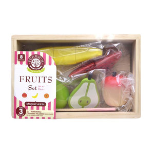 Fruit set package top view featured in the woody puddy set