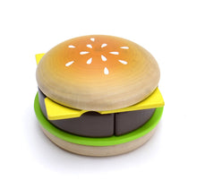 Load image into Gallery viewer, Hamburger set featured in the woody puddy set