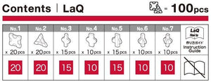LaQ Free Style 100 Red