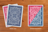 Blue Ribbon 323 Playing Cards, rare playing cards, art of play, custom playing cards, poker deck, bicycle reprint, cardistry, bocopo playing cards