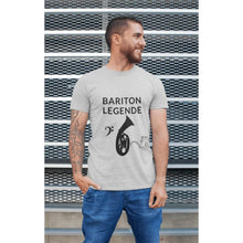 "Laden Sie das Bild in den Galerie-Viewer, ""Bariton-Legende"" – hochwertiges T-Shirt"