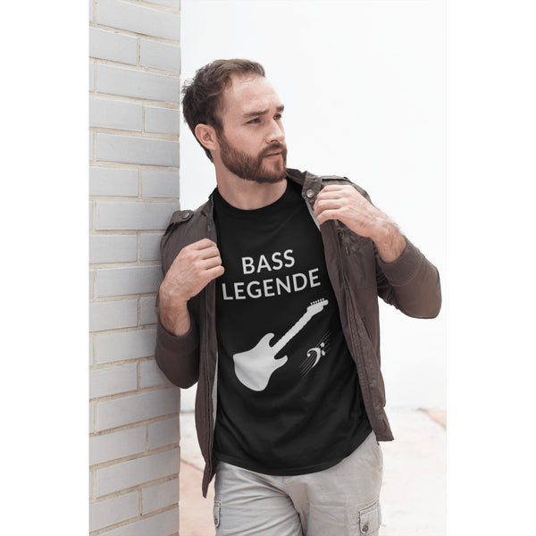 """Bass-Legende"" – hochwertiges T-Shirt"