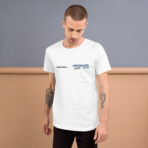 """Grünauer Buam + Dein Name"" – Premium fashion-fit T-Shirt"