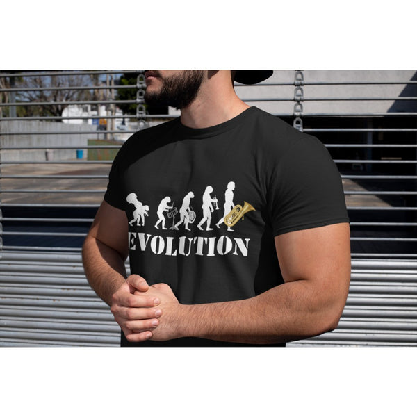 """Evolution Tuba""  – hochwertiges T-Shirt"