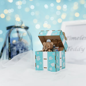 [JIGZLE Wooden Puzzle]<br>Timeless Teddy Musical Box
