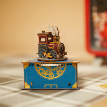 Load image into Gallery viewer, [JIGZLE Wooden Puzzle]<br>Classic Locomotive Musical Box