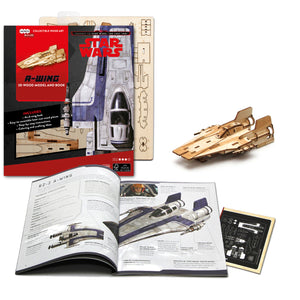 [INCREDIBUILDS Wooden Puzzle]<br>Star Wars - A-wing