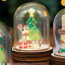 Load image into Gallery viewer, [TeamGreen Lifestyle]<br>Christmas Light Box - Christmas Squirrels