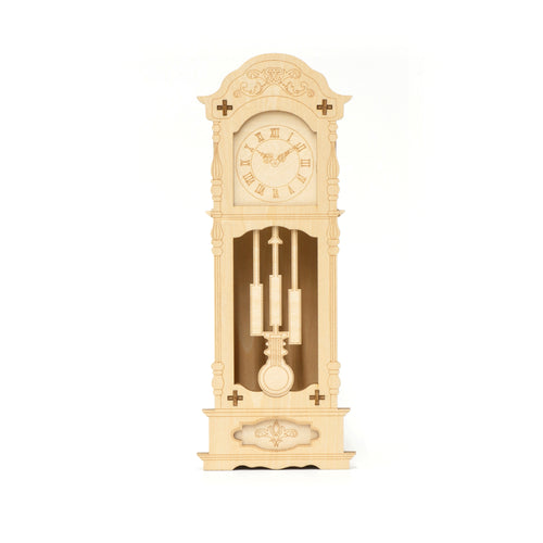 [JIGZLE Wooden Puzzle]<br>Antique Clock Watch Case