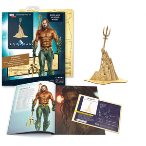 [INCREDIBUILDS Wooden Puzzle]<br>Aquaman