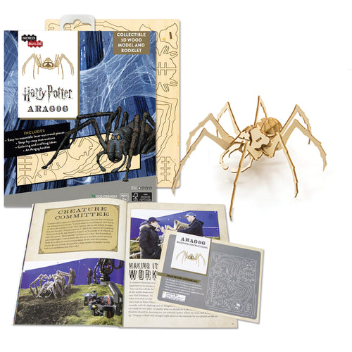 [INCREDIBUILDS Wooden Puzzle]<br>Harry Potter - Aragog