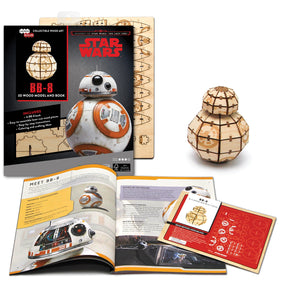 [INCREDIBUILDS Wooden Puzzle]<br>Star Wars - BB-8