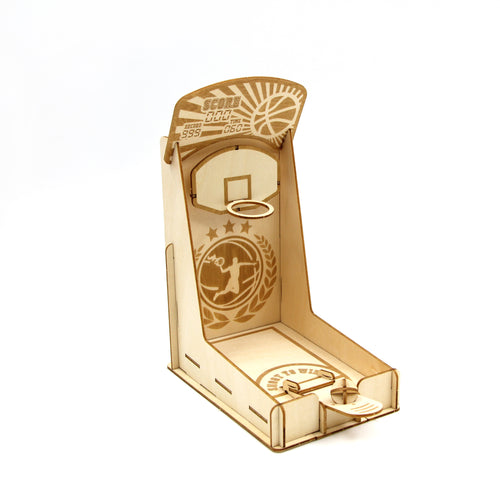 [JIGZLE Wooden Puzzle] <br>Basketball Machine