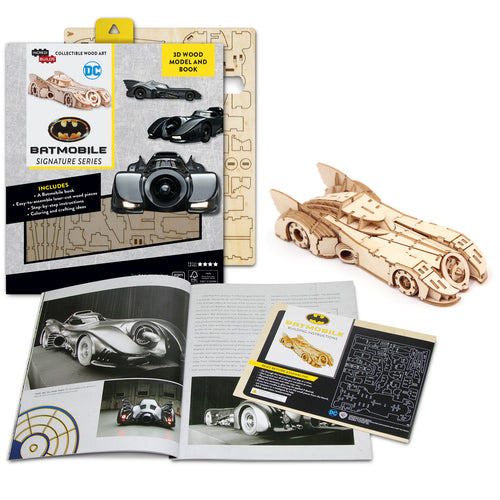 [INCREDIBUILDS Wooden Puzzle]<br>Batmobile