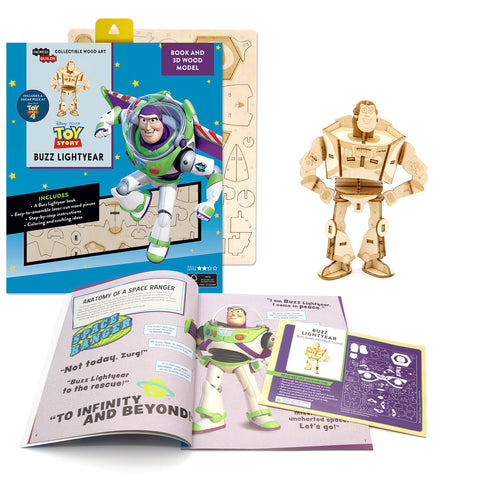 [ INCREDIBUILDS Wooden Puzzle]<br>Toy Story - Buzz Lightyear