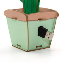 Load image into Gallery viewer, [JIGZLE Wooden Puzzle]<br>Cactus Cable Box
