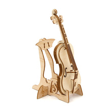 Load image into Gallery viewer, [JIGZLE Wooden Puzzle]<br>Cello Smartphone Stand