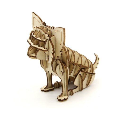 [JIGZLE Wooden Puzzle]<br>Chihuahua