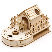 Load image into Gallery viewer, [JIGZLE Paper + Plywood Puzzle]<br>Dog House Mini Desktop Organizer with Chihuahua