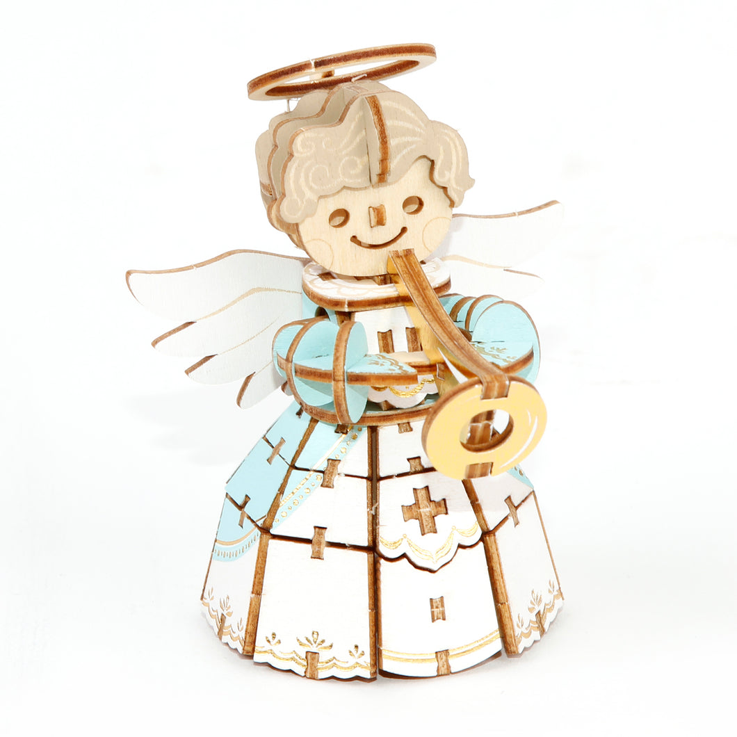 [JIGZLE Wooden Puzzle]<br>Christmas Angel