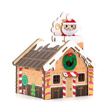 Load image into Gallery viewer, [JIGZLE Wooden Puzzle]<br>Christmas Gingerbread House Musical Box