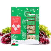 Load image into Gallery viewer, [JIGZLE Wooden Puzzle]<br>Christmas Snowflakes Box Set (3 in one)