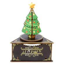 Load image into Gallery viewer, [JIGZLE Wooden Puzzle]<br>Christmas Tree Musical Box