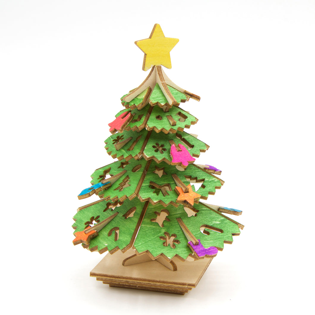[JIGZLE Wooden Puzzle]<br>Christmas Tree